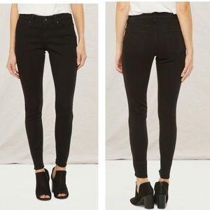 a.n.a Womens Black Skinny denim Jeans size 4P